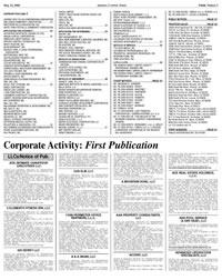 Public Notice Advertising Arizona Capitol Times