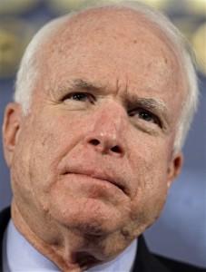 Sen. John McCain said he intends to oppose U.S. Supreme Court nominee Elena Kagan due to her stance on military recruitment on Harvard's campus.(AP Photo/J. Scott Applewhite)