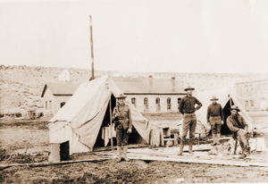 Fort Defiance is pictured at the turn of the century.