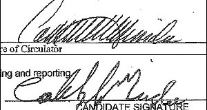 Experts say Catherine Miranda signature forged on election documents