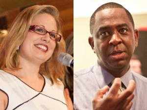 Primary results forecast CD9 turf war between Sinema, Parker