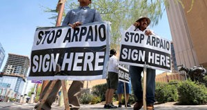 Arpaio recall group fails to gather enough signatures