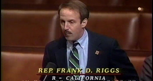 Former Congressman Frank Riggs (Photo from C-SPAN