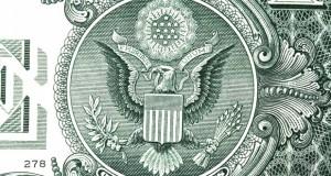 money dollar bill eagle