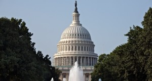 The Capitol is seen in Washington, Thursday morning, July 31, 2014, as lawmakers prepare to begin a five-week summer recess. (AP Photo/J. Scott Applewhite)