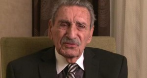 A still from a video featuring former Arizona Gov. Raul Castro urging Latinos to vote.
