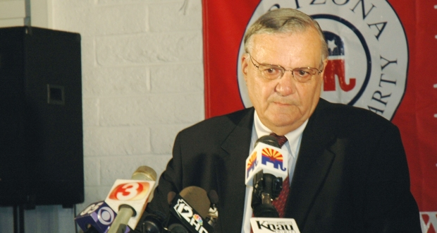 Maricopa County Sheriff Joe Arpaio. (Capitol Media Services file photo by Howard Fischer)
