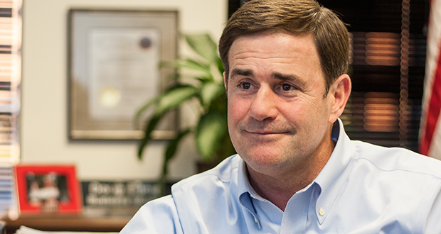 Gov. Elect Doug Ducey (Photo by Evan Wyloge/Arizona Capitol Times)