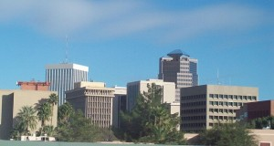 The Tucson skyline. (Photo by Sahmeditor/WikimediaCommons)