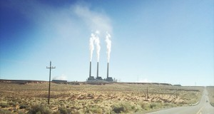 Navajo Generating Station near Page, Arizona. (Photo by Abrahm Lustgarten/ProPublica)
