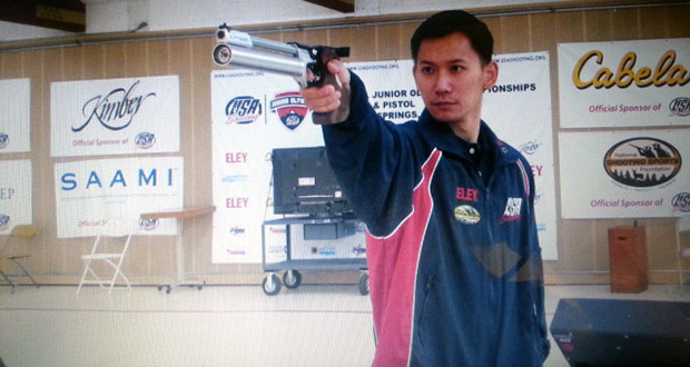 Jay Shi, a software developer at the Arizona Corporation Commission, will be competing in the 2016 Rio Olympics in men's pistol shooting. (Photo submitted by Jay Shi)