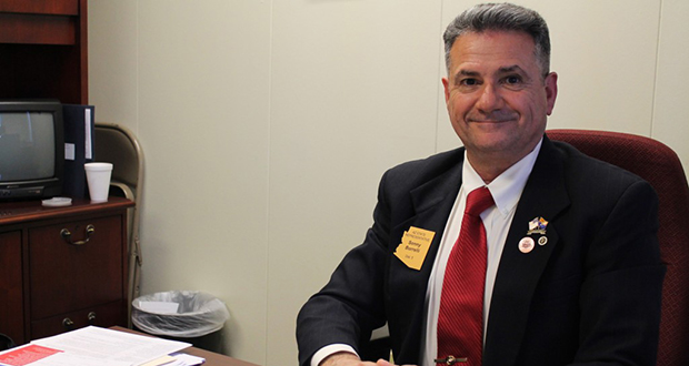 File photo of Rep. Sonny Borrelli, R-Lake Havasu City (Cronkite News Service Photo by Jessica Boehm)