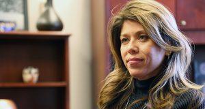 House Minority Leader Rebecca Rios (Photo by Rachel Leingang, Arizona Capitol Times)