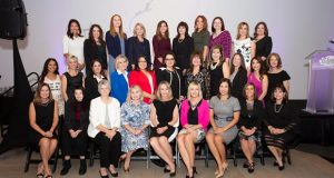 The 2019 Women Achievers celebrate in last year's award ceremonies at the Phoenix Art Museum.