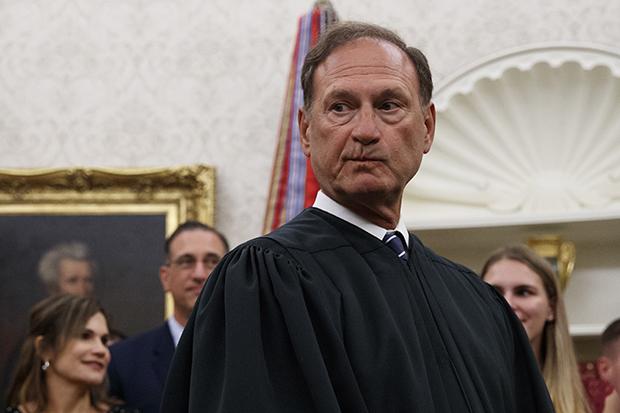 Supreme Court Justice Samuel Alito (AP Photo/Carolyn Kaster)
